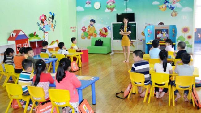 Báo cáo thực tập mầm non về tổ chức hoạt động chung cho trẻ