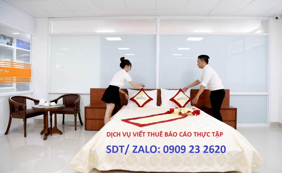 đề tài báo cáo thực tập nhà hàng khách sạn
