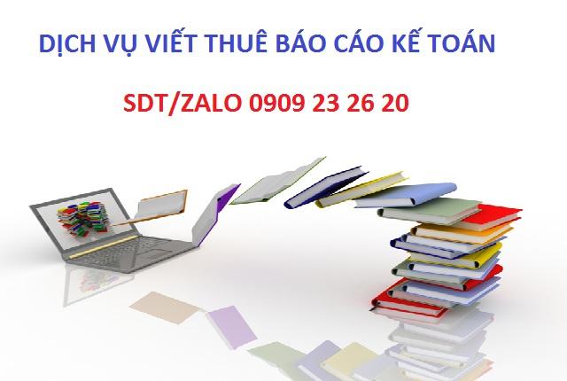 đề tài thực tập tốt nghiệp ngành kế toán
