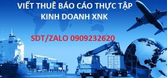 Một số đề cương chi tiết kinh doanh xuất nhập khẩu HAY ĐIỂM CAO