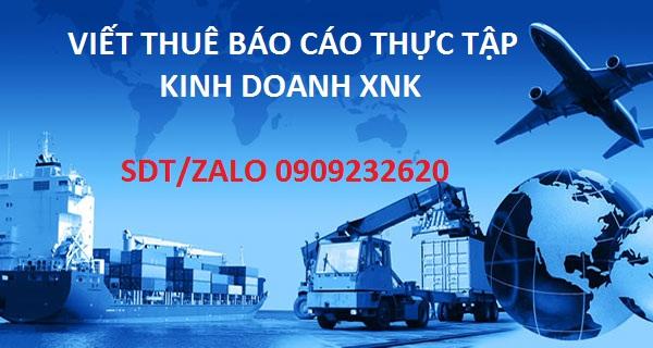đề cương chi tiết kinh doanh xuất nhập khẩu