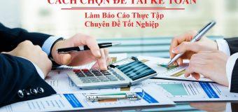 64 Đề tài báo cáo tốt nghiệp Kế toán doanh nghiệp ĐIỂM CAO 2019